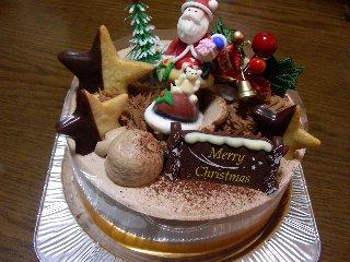たこまんのクリスマスケーキ