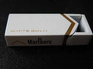 Marlboro WHITE GOLD 第4弾?