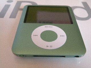iPod nano 3rd. green
