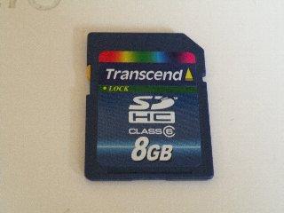 Transcend SDHC 8GB CLASS6