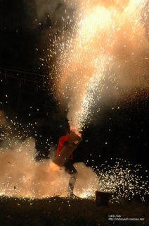2009年秋祭り 手筒花火
