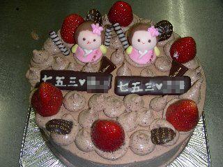 生チョコケーキ完成