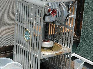 鍛治屋さん手作りかき氷機