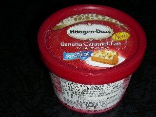 ハーゲンダッツ バナナキャラメルタルト