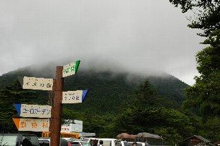 富士山の反対側の山