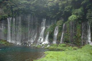 白糸の滝(オート 1/50S)